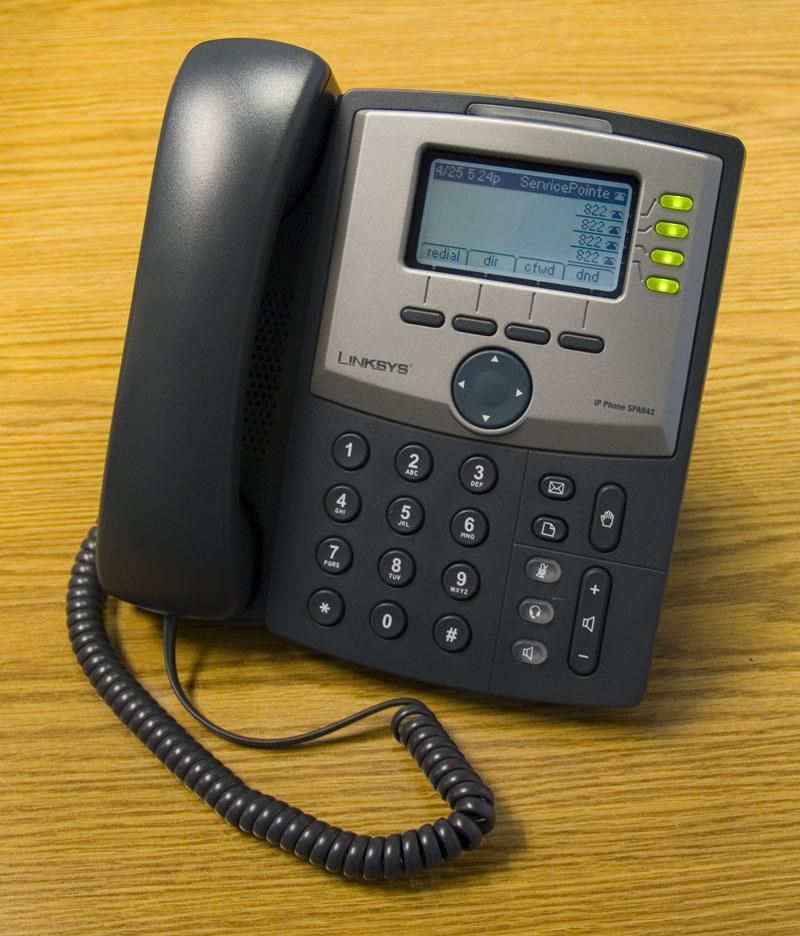 Cisco linksys SPA942 4 line IP Phone