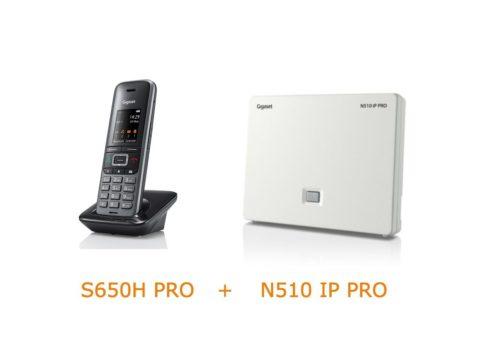Gigaset N510 IP PRO base with S650H PRO handset