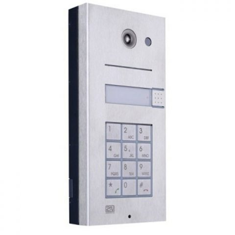 2N Helios 1 Button + Keypad Door Entry Panel 9135110KE