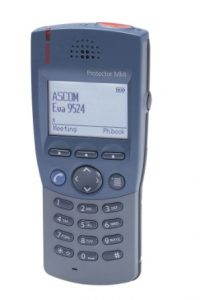 Ascom 9d24 Protector MKII handset +oplader nieuw.