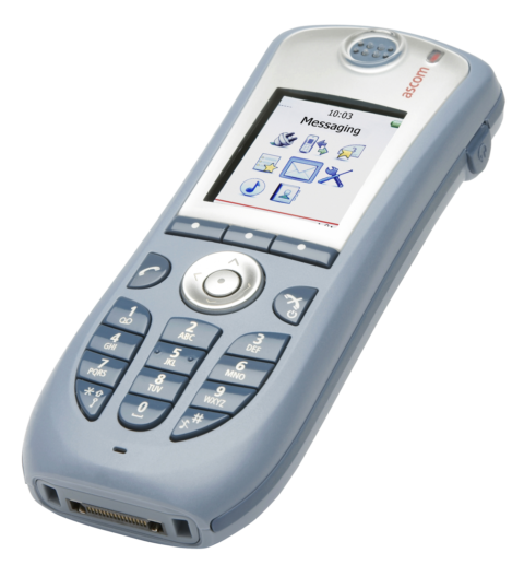 Ascom i62 Messenger Voice over WiFi handset
