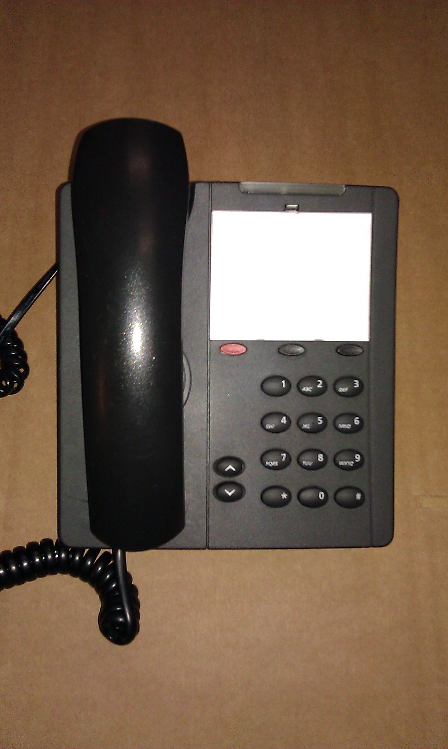 Mitel 5201 IP Phone Dark Grey partij voordeel