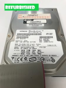 The Mitel 3300 80GB Hard Drive (50005443) features: • 80 GB • +12V 0.52A • +5V 0.72A • Refurbished • One Year Warranty