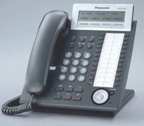 Panasonic KX-DT343 digitaal toestel