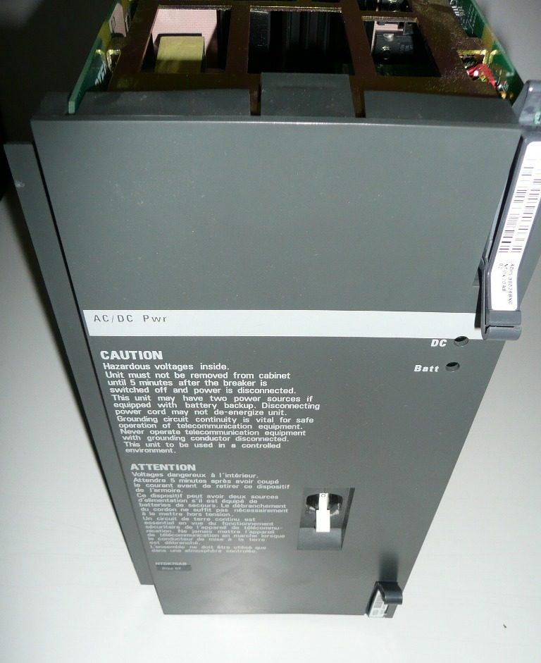 Nortel Meridian AC/DC Power Supply NTDK78AB rel 2