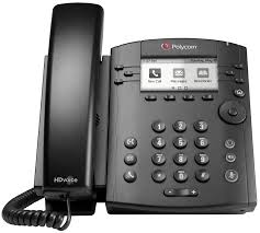 Polycom VVX 300 Business Desktop PHONE sip VoIP refb