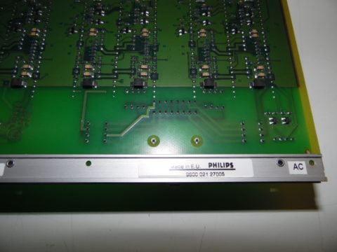 Philips DCC 8 9600 021 27005 and Philips 9600 021 24005