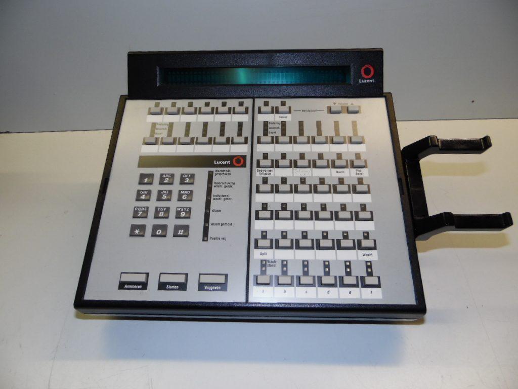 Avaya Lucent 302 C Attendant Console Black