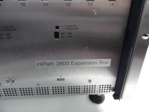Siemens Expansion Box for HiPath 3800