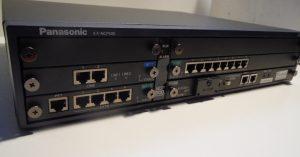 Panasonic KX-NCP500 XNE IP PBX + DSP4 KX-NCP1104