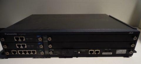 Panasonic KX-NCP500 VNE IP PBX + DSP4 KX-NCP1104
