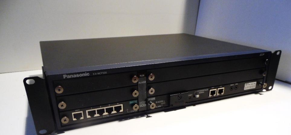 Panasonic KX-NCP500 NE IP PBX + DSP16 KX-TDE0110