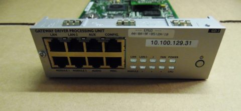 Alcatel-Lucent GD-3 GATEWAY DRIVER BOARD 3EH73084AE