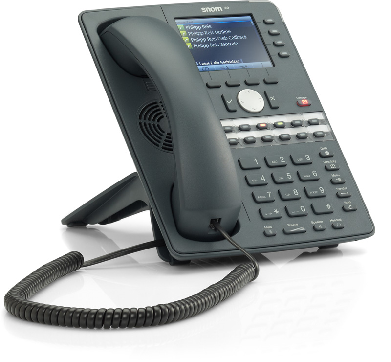 SNOM 760 UC Edition Business IP Telefoon 12 sip lijnen