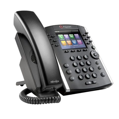 VVX 410 12-line Desktop Phone HD Gbit