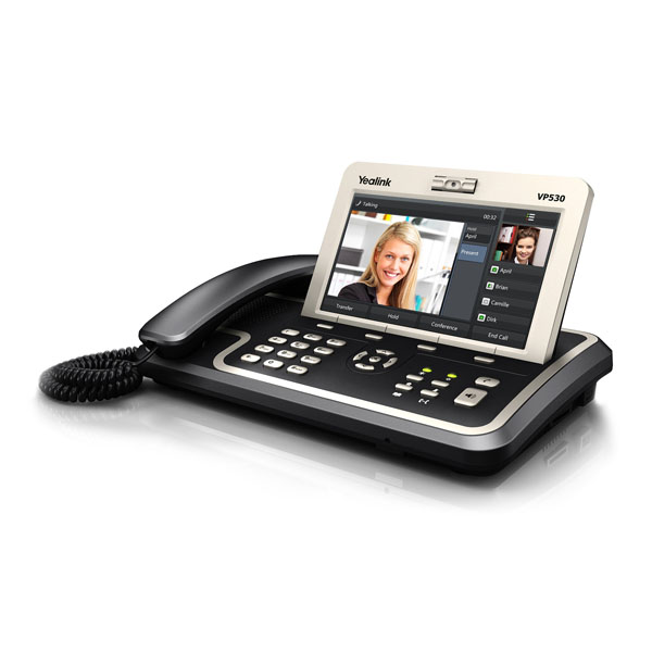 Yealink VP530 IP Video Phone demo