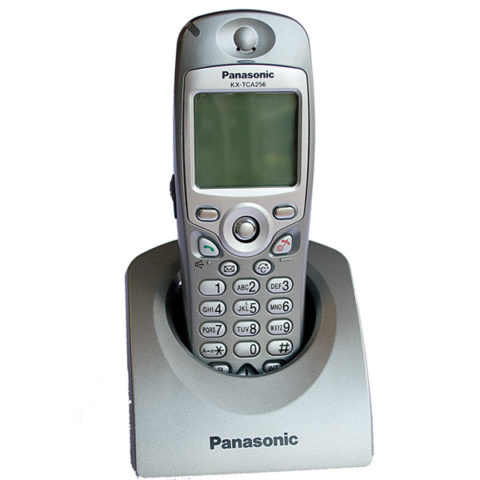 Panasonic KX TCA 256 handset dect