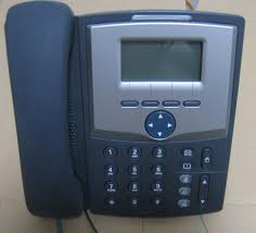 Cisco Linksys SPA-922 1-lijns IP Phone 1xSIP. 2xLAN. PoE