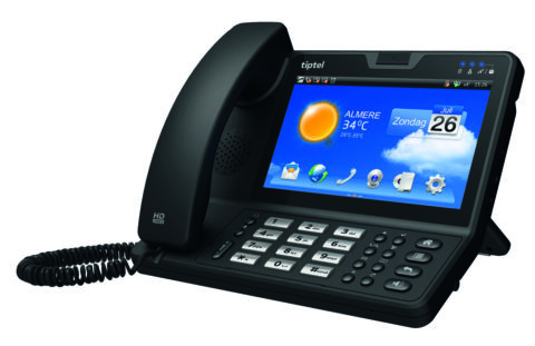 tiptel 3275 touchscreen IP Phone